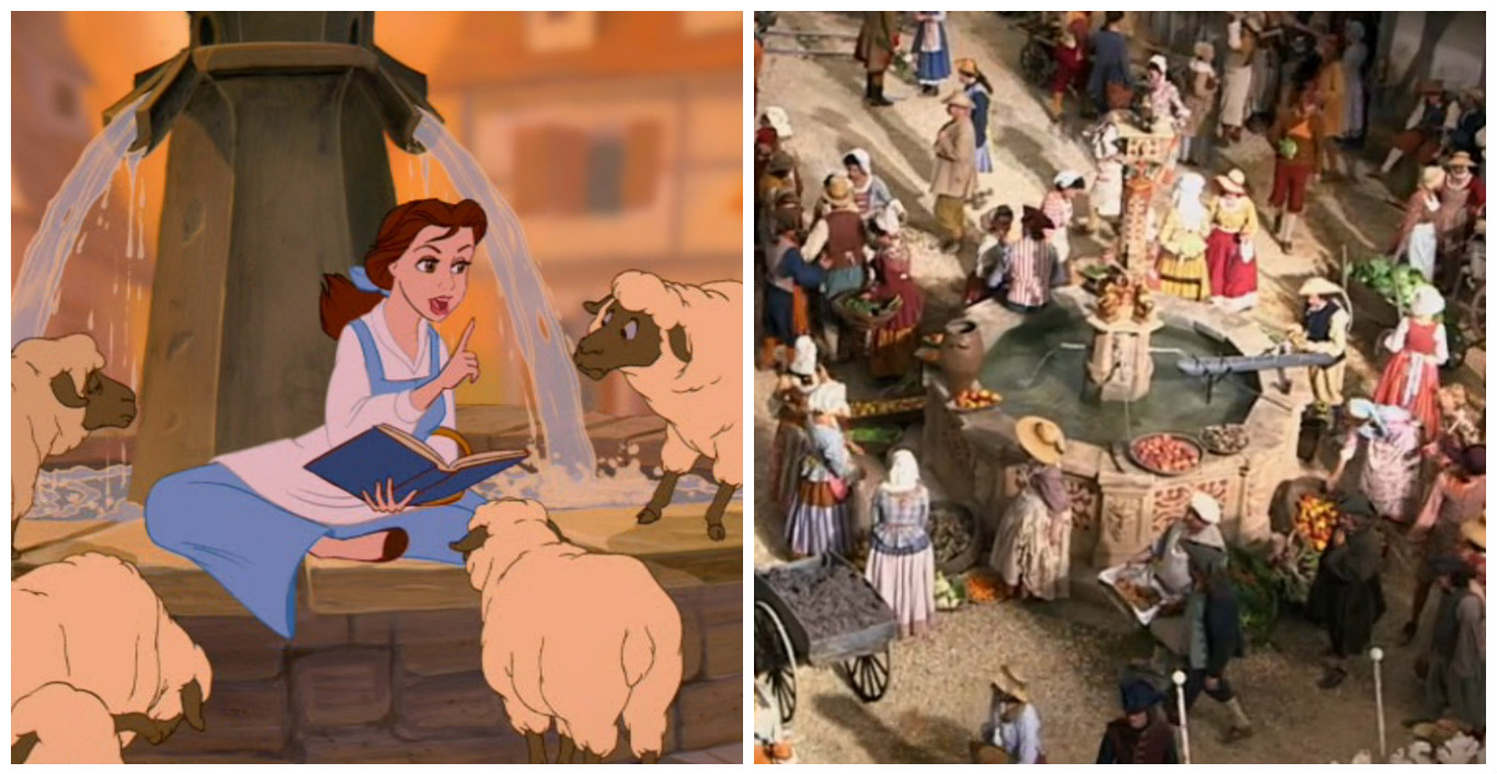 Beauty and the Beast Behind the scenes