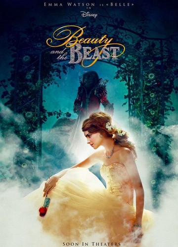 Beauty and the Beast (2017) wallpaper containing a bridesmaid titled Beauty and the Beast