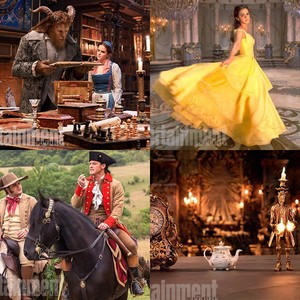 Beauty and the Beast first foto's
