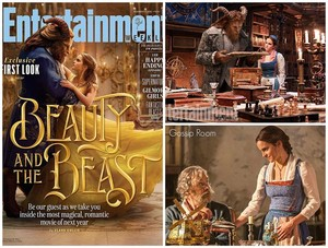 Beauty and the Beast first các bức ảnh