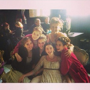 Bennet ladies - behind the scenes