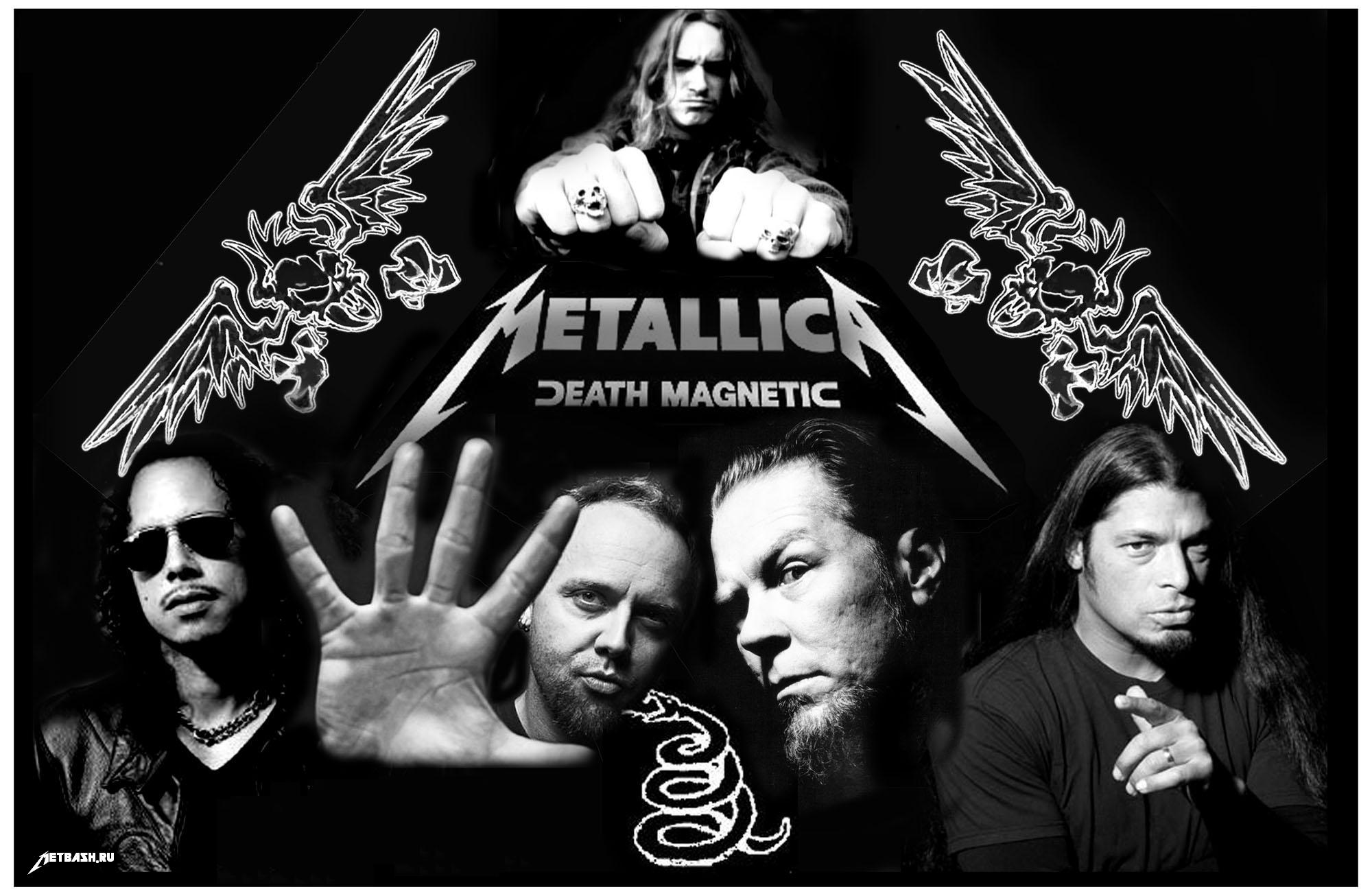 Best metallica death magnetic fondo de pantalla
