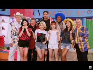Better Late Than Never TV Reality stars and Girls' Generation