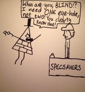 Bill at SpecSavers