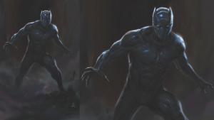 Black panther - Concept Art