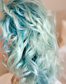 Blue Mermaid Hair - mermaids photo