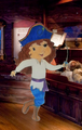 blaubeere, heidelbeere muffin Pirate