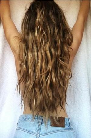 Brown Mermaid Hair