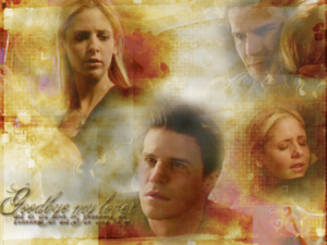 Buffy/Angel Wallpaper - Goodbye My Lover