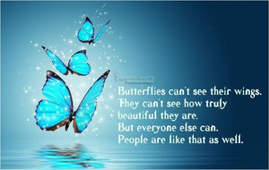 Butterflies' Quote