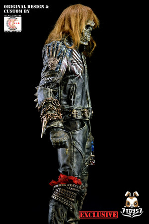 Calvin's Custom Original 设计 1/6 one sixth scale custom Undead Biker