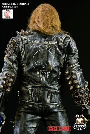 Calvin's Custom Original デザイン 1/6 one sixth scale custom Undead Biker