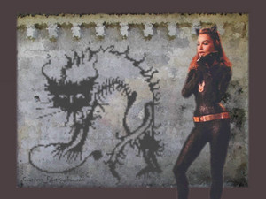 Catwoman's Mural
