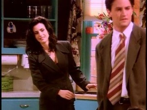 Chandler and Monica 12