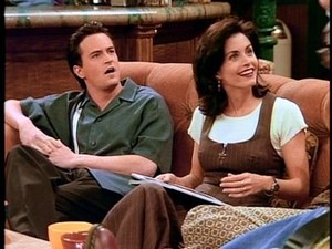 Chandler and Monica 21