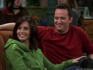 Chandler and Monica 7
