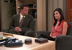 Chandler and Monica 8