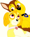 Chase and Skye  - paw-patrol fan art