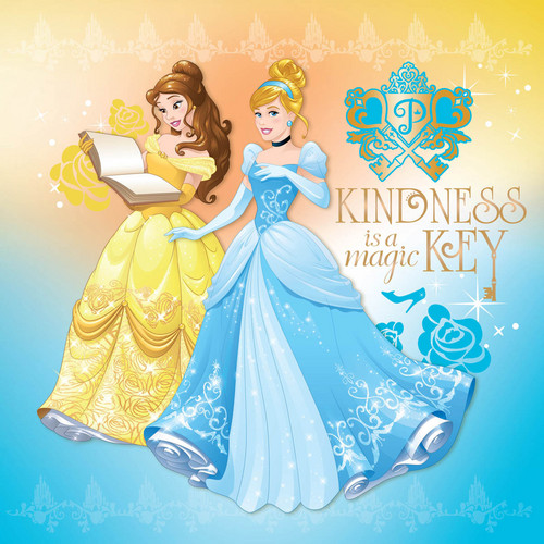 Princesses Disney fond d'écran probably with a dîner dress, a gown, and a bridesmaid entitled Cendrillon and Belle