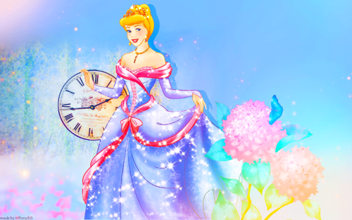 Disney Princess wallpaper probably with anime titled Cinderella
