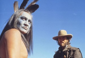 Clint Eastwood and Will Sampson  (The Outlaw Josey Wales) 1976