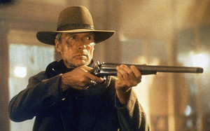Clint Eastwood as William Munny in Unforgiven 1992