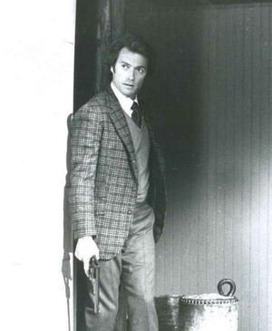 Clint as Dirty Harry 1971