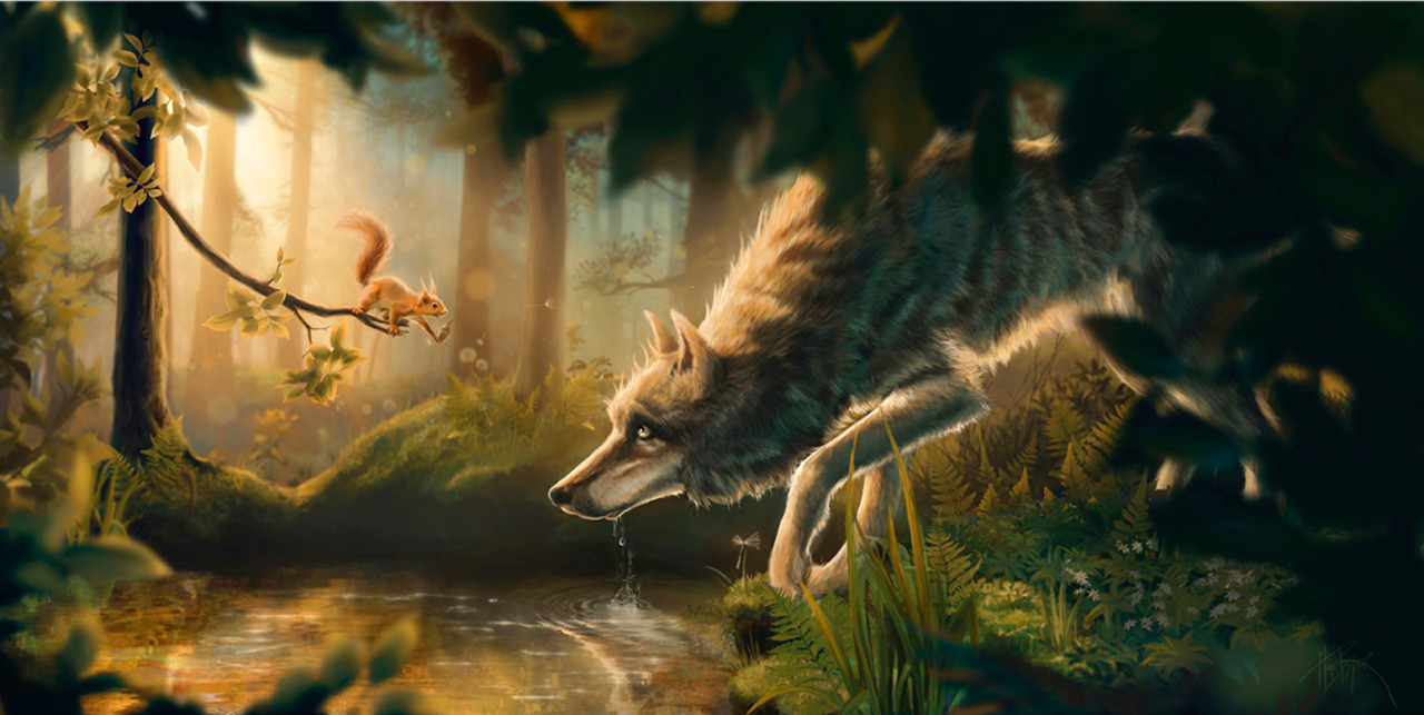 Company of Wolves Artwork