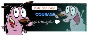 Congrats! 29 Percent to Kidz Bop answer. Courage the Kidz Bop dog