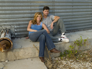 Connie Britton and Kyle Chandler as Tami and Eric Taylor
