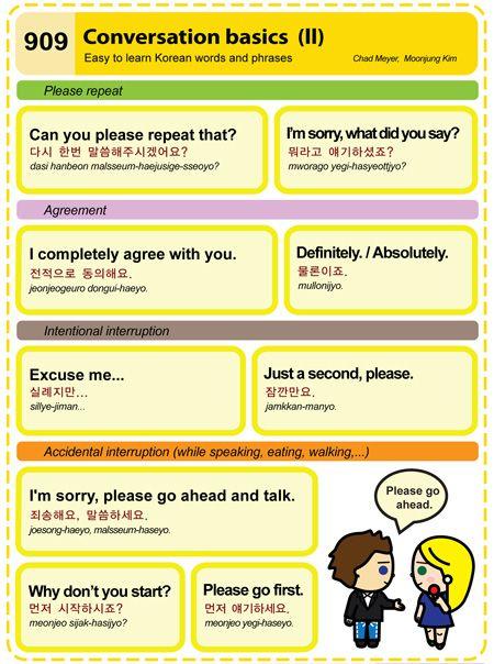 Conversation basics