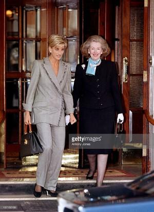 Countess Raine Spencer, stepmother of Princess Diana