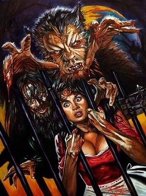 Curse of the Werewolf (fan art da Rick Melton)