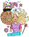 Cute barbie Fashionistas pic