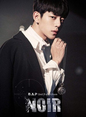 Daehyun's teaser image for 2nd full album 'NOIR'
