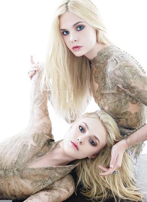 Dakota and sister Elle