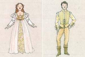 Danielle and Henry - Ever After musical concept art