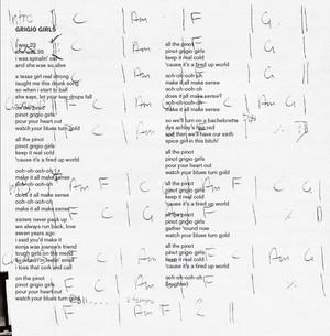 Digital Booklet - Joanne (Deluxe) - Grigio girls