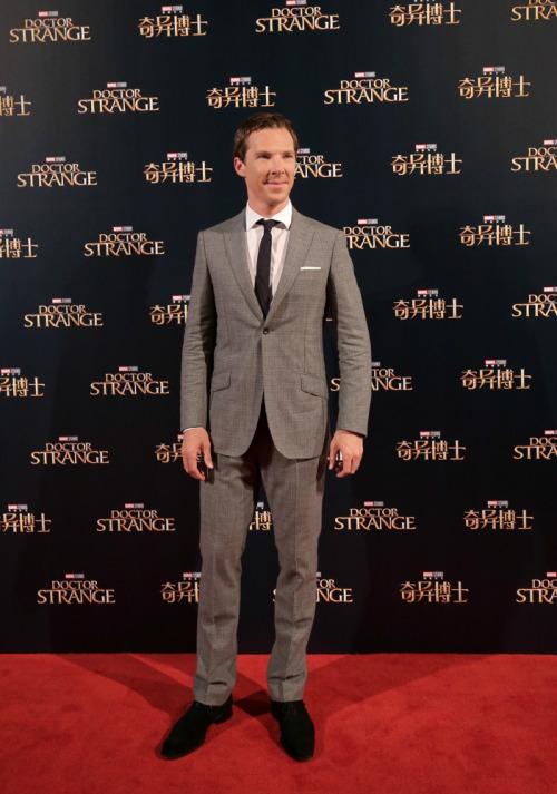 Doctor Strange Shanghai and Hong Kong Red Carpet