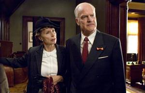 Dolf de Vries as Wim Smaal and Diana Dobbelman as Mrs. Smaal
