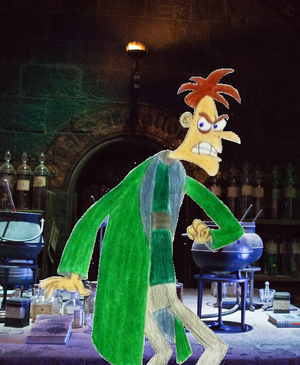 Dr. Doofenshmirtz in Slytherin