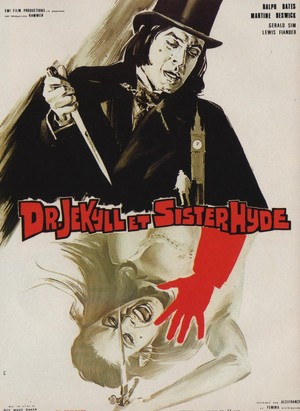 Dr. Jekyll & Sister Hyde poster