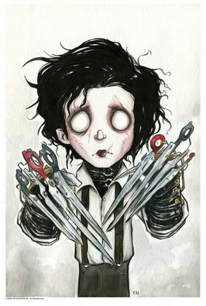 Edward Scissorhands oleh Christopher Uminga