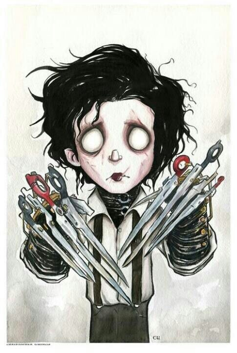 Edward Scissorhands Von Christopher Uminga