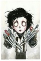 Edward Scissorhands by Christopher Uminga  - tim-burton photo