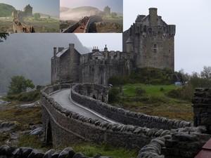 Eilean Donan Castle. GPS 57 16 26.9N 5 30 56.5W
