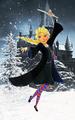 Elsa in Ravenclaw