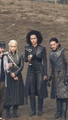 Emilia, Nathalie and Kit - game-of-thrones photo