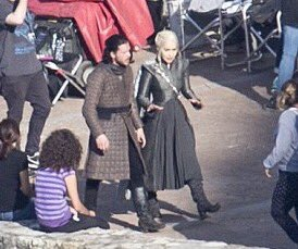 Emilia and Kit Bangtan Boys