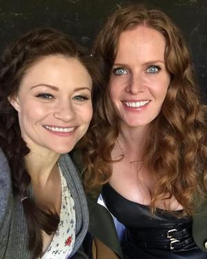 Emilie and Rebecca
